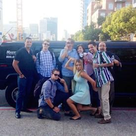 TapHunter Team limo