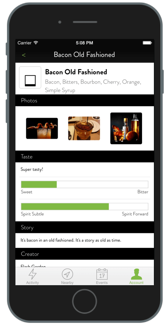 taphunter app cocktails