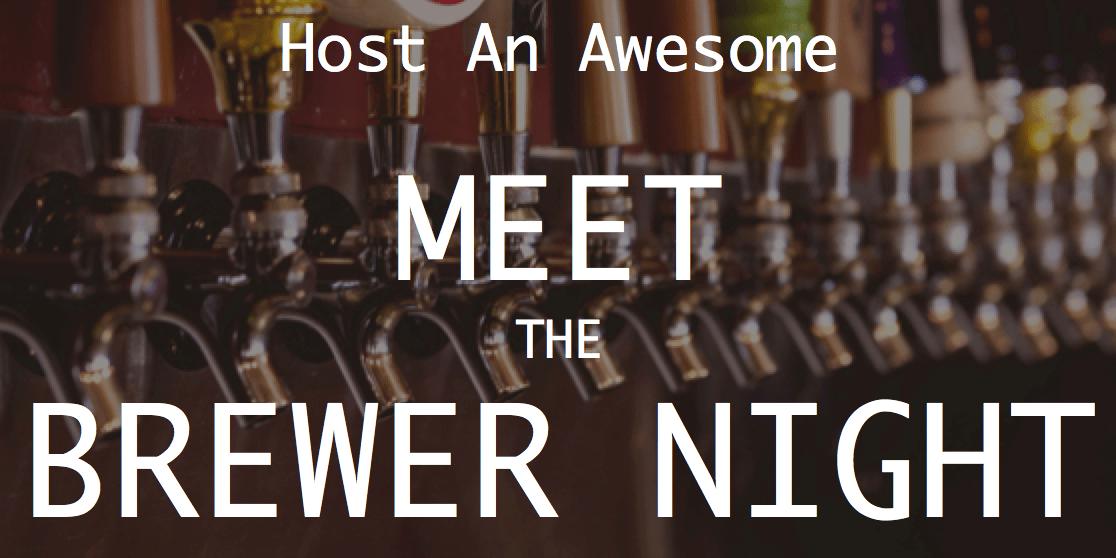 meet the brewer night