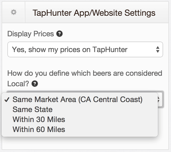 Local beer, app, TapHunter, update
