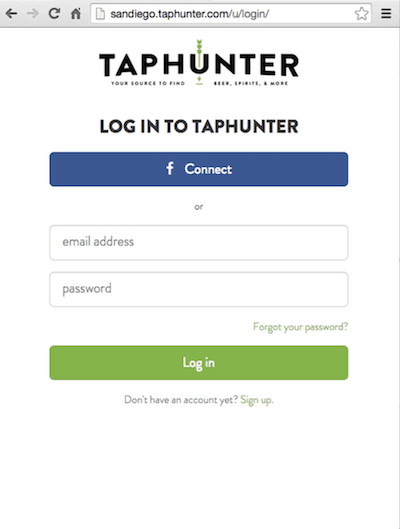 Feature 1 Email Login TapHunter
