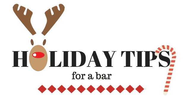 holiday tips for a bar