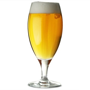 chalice beer glass