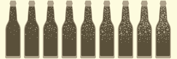 carbonated craft beer