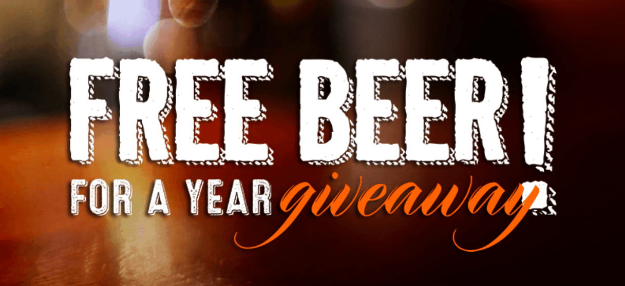 free beer for a year