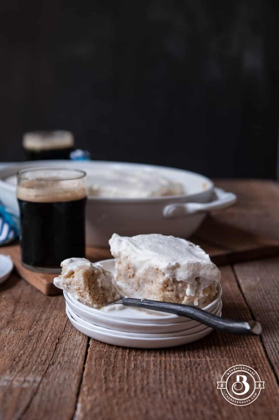 Coconut Porter Tres Leche Cake