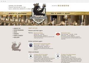 Manderville Beer Garden Online Beer List
