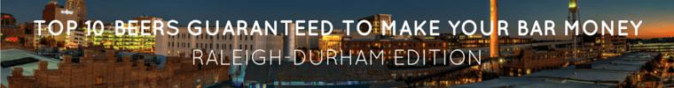 Raleigh-Durham Top 10 Beers