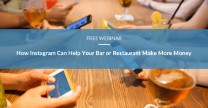 Free training video: webinar recording for bar and restaurant owners on using Instagram