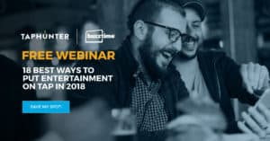 Buzztime and TapHunter webinar for entertainment in bars and restaurants