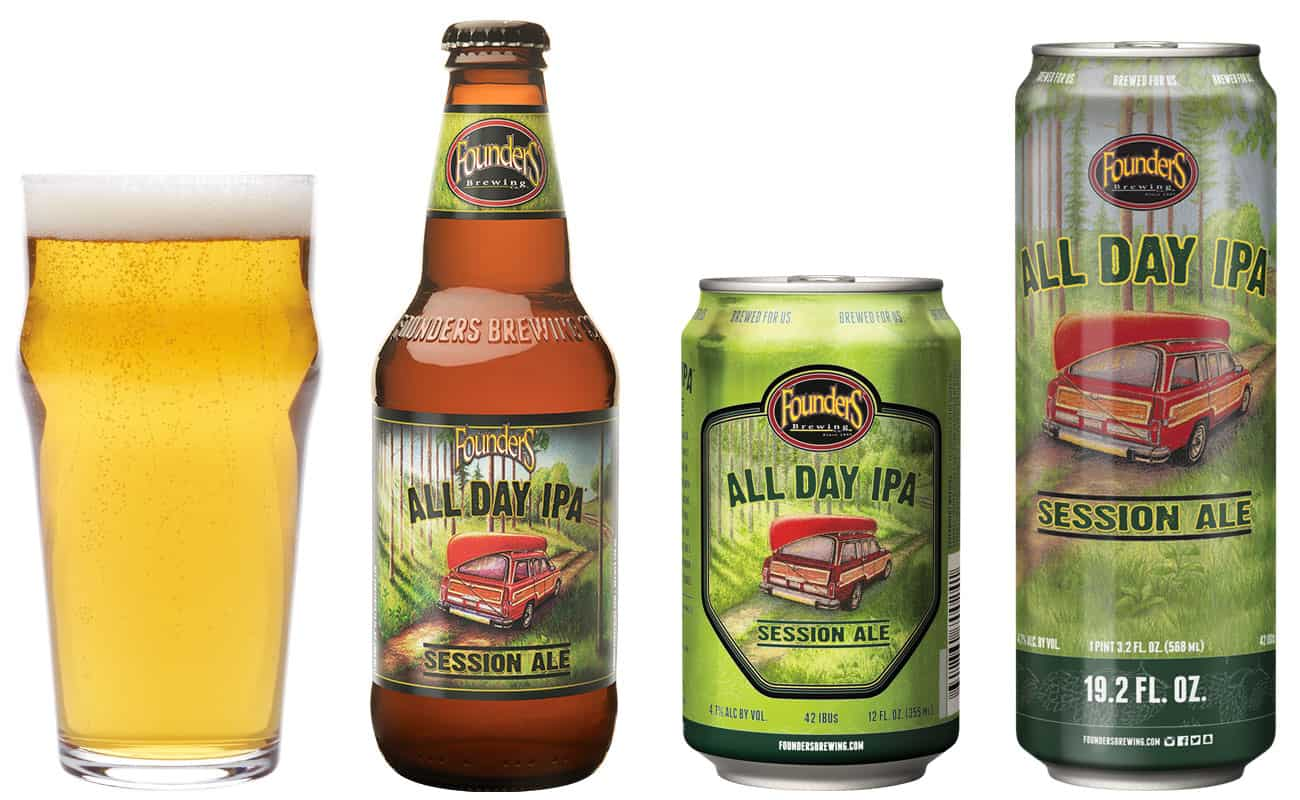 2018 Founders All Day IPA